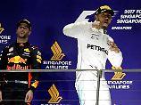 Geerbter F1-Sieg in Singapur: Hamilton triumphiert nach Vettel-Desaster
