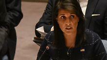 Im Falle eines Angriffs: USA drohen Nordkorea mit Vernichtung