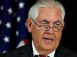 Tillerson deutet Mitarbeit an: USA jetzt doch für Klimaschutz?