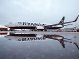 """2100 Flugausfälle bis November: Ryanair gesteht """"heilloses Chaos"""" ein"""