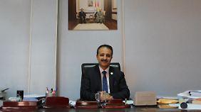 Hussamalddin Ali Majed glaubt, ein militärischer Konflikt mit der Zentralregierung in Bagdad könne nicht von Dauer sein.