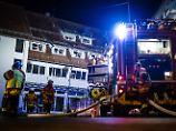 Feuerdrama in Neubulach: Zwei Menschen sterben bei Wohnungsbrand