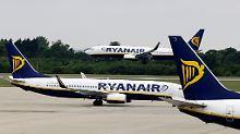 Bis zu 400.000 Kunden betroffen: Ryanair streicht tausende weitere Flüge