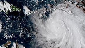 """Hurrikan der Kategorie 5: """"Maria"""" trifft auf sturmgebeutelte Karibik"""