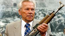 """""""Kulturelle Marke Russlands"""": Moskau ehrt AK-47-Erfinder Kalaschnikow"""