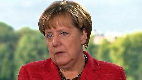 """Angela Merkel im Interview: """"Diese Entscheidungen waren richtig"""""""