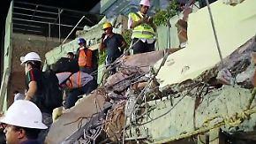 Schweres Erdbeben in Mexiko-Stadt: Unzählige Kinder sind unter eingestürzter Schule verschüttet