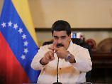 """""""Angeordnet von Trump"""": Maduro wittert Mordkomplott aus Oval Office"""