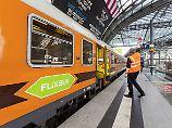 Nach Einstieg von Flixbus: Locomore erfreut sich hoher Nachfrage