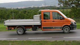 Neben dem Kastenwagen gibt es weitere Aufbauvarianten.