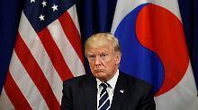 Atomkonflikt mit Nordkorea: USA und EU weiten Sanktionen aus