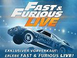 """Spektakuläre Stunts live: So sahen Sie """"Fast & Furious"""" noch nie"""