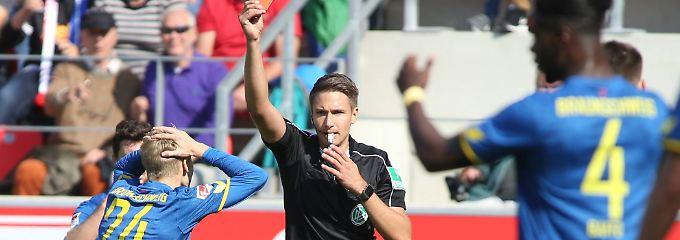 2. Liga im Überblick: Braunschweig eskaliert, Düsseldorf ist spitze