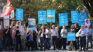 Rennen um Platz drei: Mit der AfD könnten dubiose Kandidaten in den Bundestag einziehen