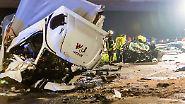 Verheerendes Wendemanöver: Geisterfahrer tötet Familie auf A67