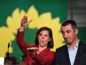 Spitzenduo Katrin Göring-Eckardt und Cem Özdemir.