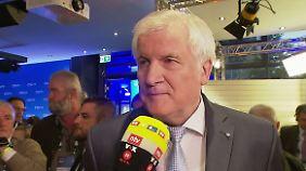 """Seehofer im n-tv Interview: """"Konsequenz ist klare Kante"""""""