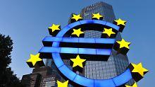 Nullzinsen im Euroraum: EZB lässt Leitzins unverändert