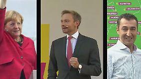 Merkel will mit SPD sprechen: Jamaika zwingt ungleiche Partner zusammen