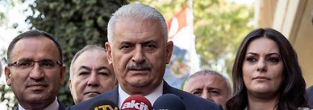 Binali Yildirim will die deutsch-türkischen Beziehungen normalisieren.