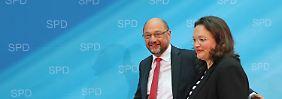 Person der Woche: Andrea Nahles - Trümmerfrau der SPD