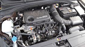 Der Dreizylinder im Hyundai i30 Kombi ist kein Leistungswunder.