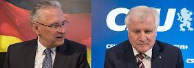 Keine Koalition ohne: CSU will nicht von der Obergrenze lassen
