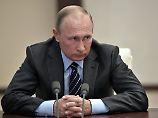 """Hofft auf eine Fortsetzung der """"beiderseitig vorteilhaften Zusammenarbeit"""": Russlands Präsident Wladimir Putin."""