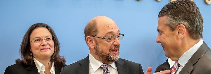 Fraktionschefin Andrea Nahles: Schulz stößt Gabriel vor den Kopf