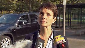 """Frauke Petry zum AfD-Austritt: """"Muss mich am Ende im Spiegel anschauen können"""""""