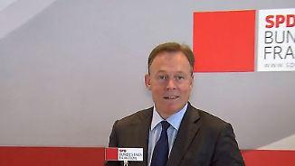 Fraktionen konstituieren sich: Oppermann räumt Mitschuld an AfD-Erfolg ein
