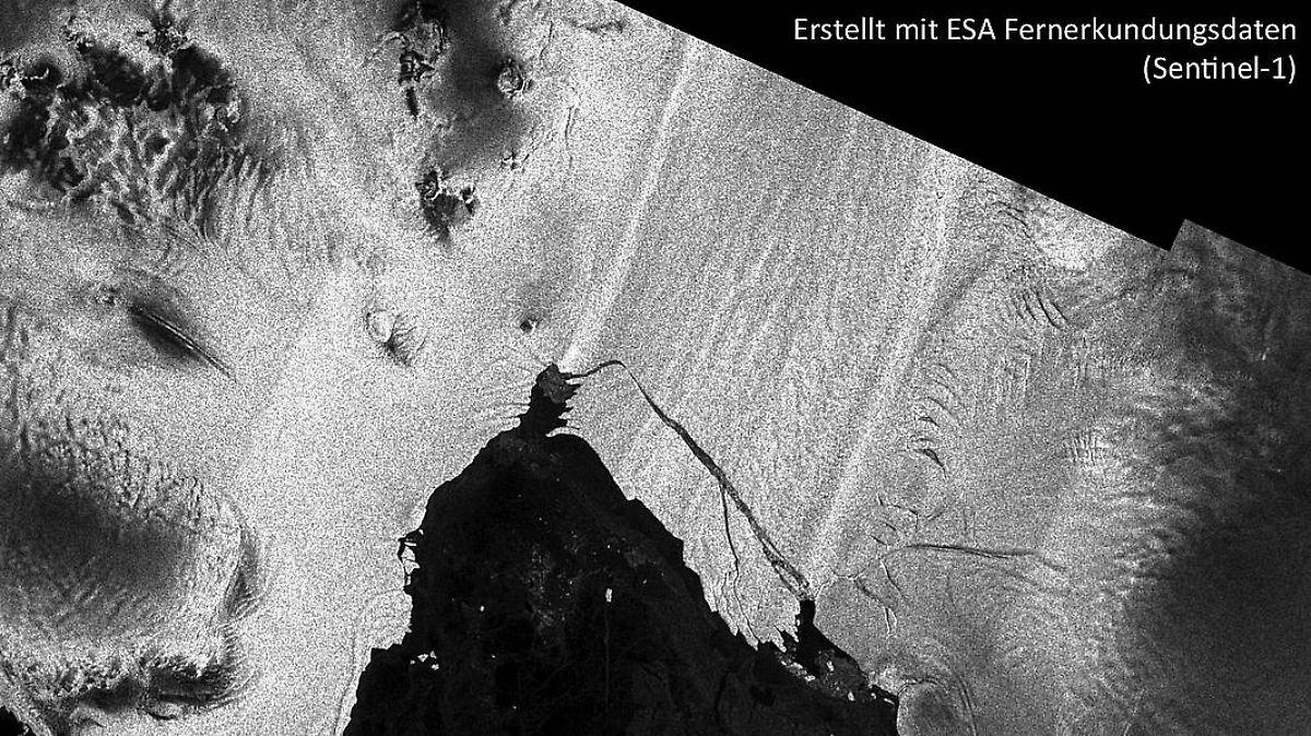 Weiterer Antarktis-Eisberg abgebrochen