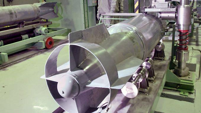 Auch in Maradykovo vernichtete Russland seine Chemiewaffen - hier im Jahr 2006.