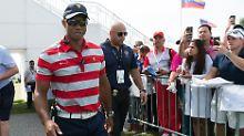 Aktuell ist Tiger Woods nur als Assistenz-Kapitän beim Presidents Cup.