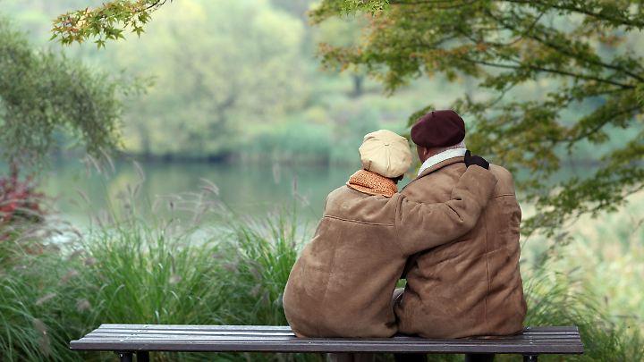 Gleich und gleich: Viele Paare tragen auch ähnliche Kleidung.