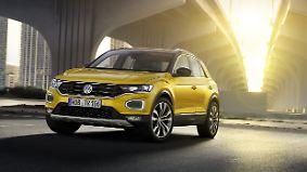 Unikat unter den Geländewagen: Volkswagens T-Roc ist ein SUV im Golf-Format