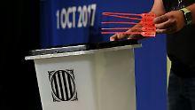 Der Tag: Katalonien will  2315 Wahlbüros eröffnen