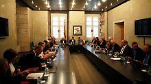 Referendumspläne schreiten voran: Katalonien verkündet Abstimmungsdetails