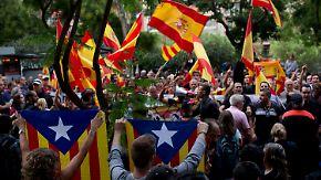 """""""Die Lage ist sehr ernst"""": Katalanen hoffen auf friedliche Abstimmung"""