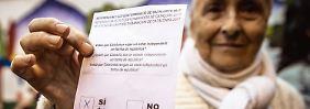 """""""Wollen die Menschenrechte verteidigen"""": Tag der Entscheidung in Katalonien"""