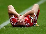 """Ribéry hat """"starke Schmerzen"""": FC Bayern vergeigt erneut Zwei-Tore-Führung"""
