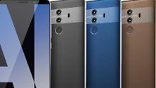 Starker iPhone-X-Konkurrent: Huawei Mate 10 Pro in ganzer Pracht geleakt