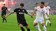 Zurück an die Tabellenspitze: Düsseldorf überrennt Duisburg