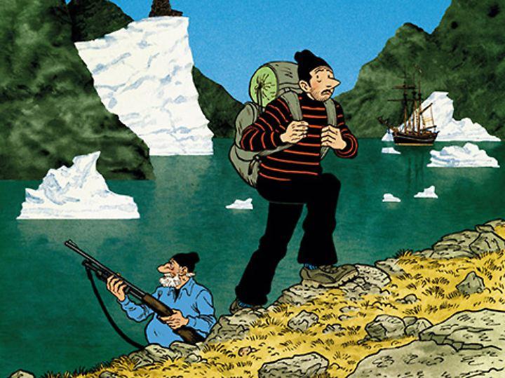 """""""Grönland Vertigo"""" erscheint bei Avant, 104 Seiten im Hardcover, 24,95 Euro."""