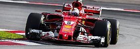Aufholjagd ohne Vorbelastung: Intaktes Getriebe erleichtert Vettel