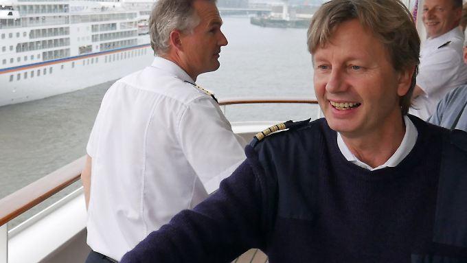 Kapitän Ulf Wolter ist seit vielen Jahren im Dienst.