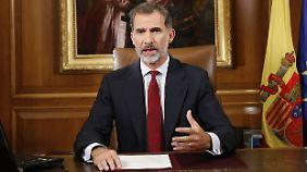 """""""Der König ist ein Heuchler"""": Katalanen begehren gegen Felipe VI. auf"""