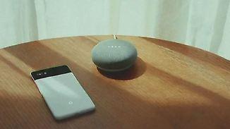 Pixel 2 und Home-Lautsprecher: Künstliche Intelligenz sammelt Daten für Google