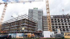 Immobilienpreise bleiben hoch: Niedrigzinsen regen Baulust weiter an