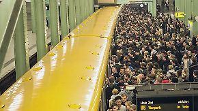 """Xavier"" legt Bahnverkehr lahm: Tausende Reisende stranden an Bahnhöfen"